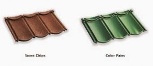 genteng metal rainbow roof profil