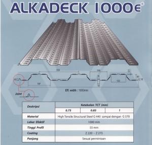 ALKADECK 1000 DIAMOND SPEK