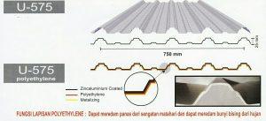 Atap Utomodeck Polyethylene