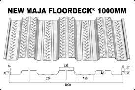 New Maja Floordeck 1000 MM