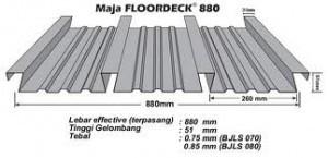 Maja Floordeck 880