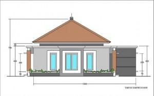 Tinggi Ideal Plafon Rumah Sederhana 1